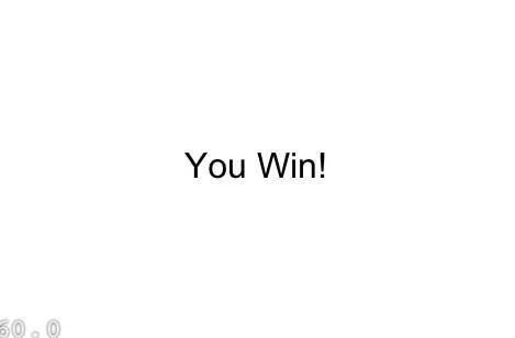 You Win Screenshot