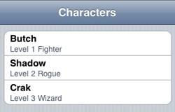 Character Viewer we'll make using Three20
