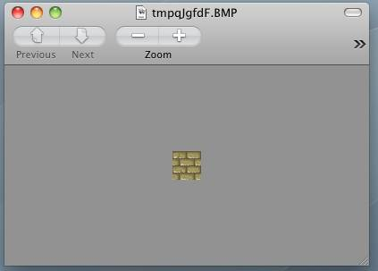 Screenshot of a single tile grabbed with PIL