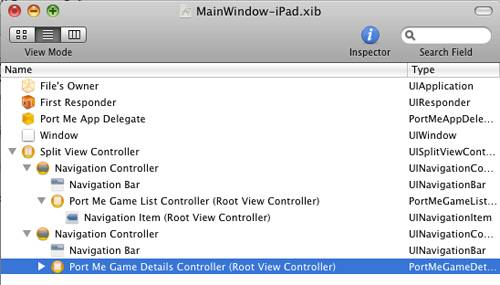 UISplitView XIB settings