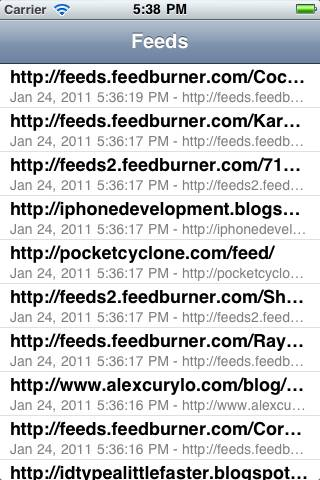 RSS feeds retrieved asynchronously with ASIHTTPRequest
