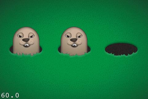 Mole with Laugh Animation