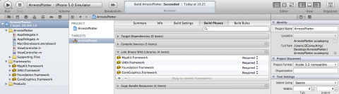Adding a Framework with Xcode 4