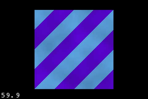 Dynamically generated stripe