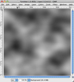 Creating random noise with Gimp