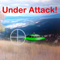 Create a simple augmented reality game where you can blast some aliens!