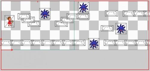 LevelHelper level sample layout