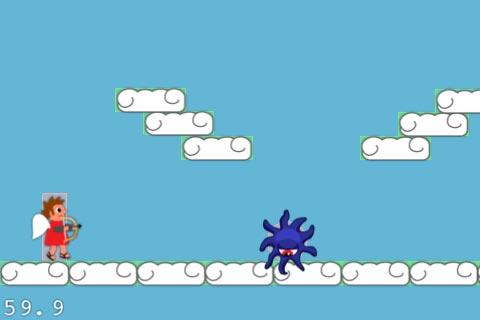 Level Helper sample level in-game