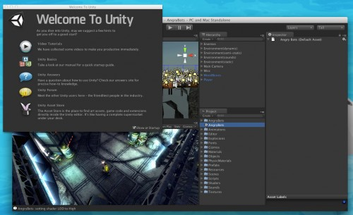 Welcome to Unity!