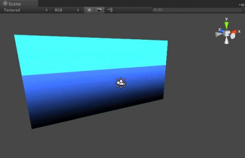 Adding a directional light in Unity