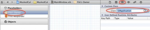 Setting File's Owner to UIApplication