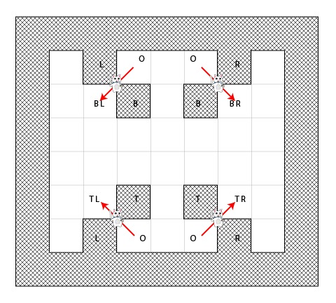 Avoiding walking through corners with the A* pathfinding algorithm