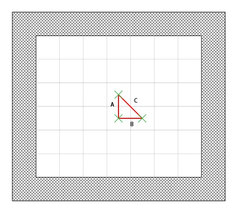 Using the pythagorean theorem for calculating movement cost for diagonals