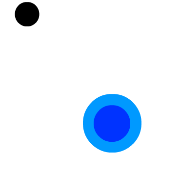 A bouncing puck