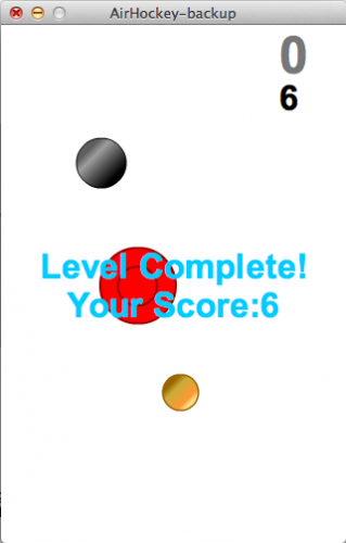 The final simple iPhone game made in Flash CS5.5!