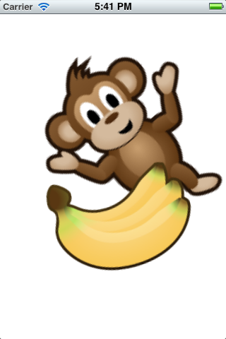 Scaling and rotating the monkey and banana