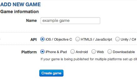 Choosing a name, API and Platform