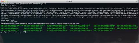 toolchain gcc directory