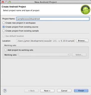 Create Eclipse project