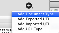 Adding a Document Type
