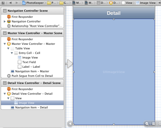 Adding an image view to a view controller