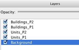 Layers in Tile Map