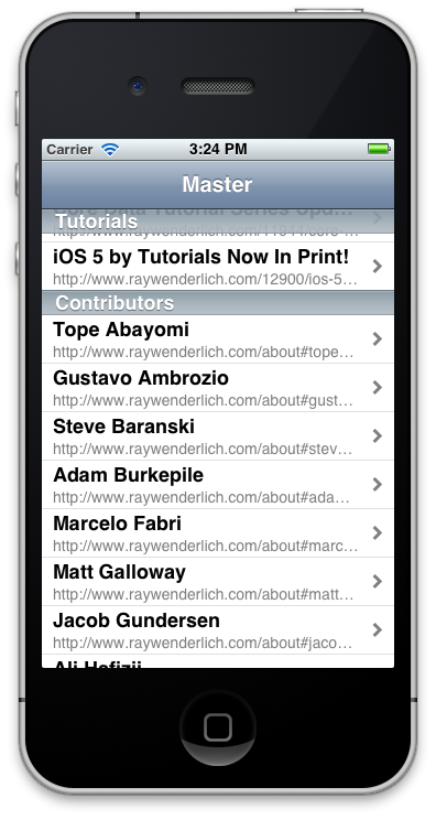 How to Parse HTML on iOS | raywenderlich com