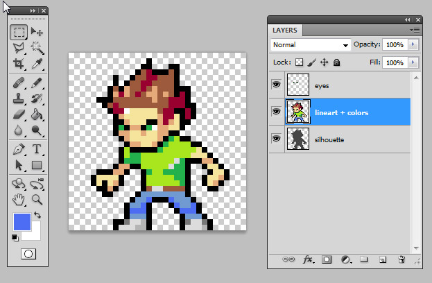 Introduction To Pixel Art For Games Raywenderlich Com