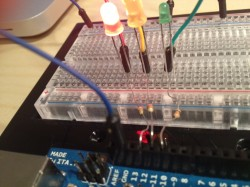 Make a traffic light with your Arduino!