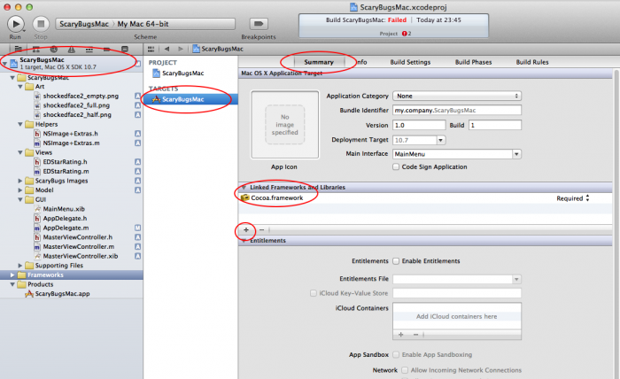 How to Make a Simple Mac App on OS X 10 7 Tutorial: Part 2/3