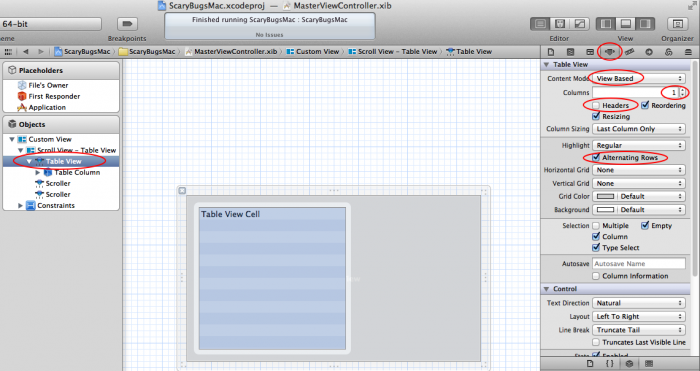 How to Make a Simple Mac App on OS X 10 7 Tutorial: Part 1/3