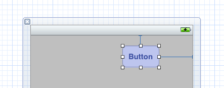 Button larger H space