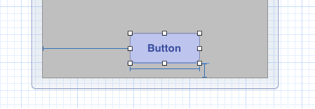 Button with fixed width