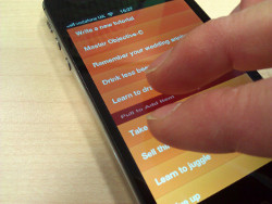 Learn how to make a stylish gesture driven to-do app like Clear!
