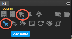 Adding a button with Kwik