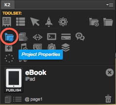 Project Properties in Kwik 2
