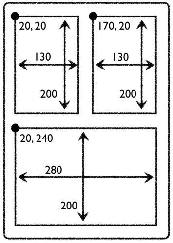 Struts coordinates