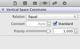V-space attributes