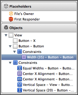 Width constraint on truncated button in document outline