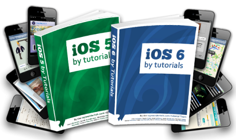 iOS 5 and iOS 6 by Tutorials are Complimentary!