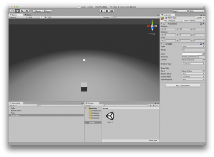 Beginning Unity 3D for iOS: Part 1/3 | raywenderlich com
