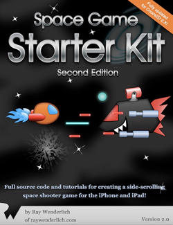 Space Game Starter Kit updated to Cocos2D v 2.X!