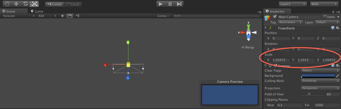 how to make a moving camera in unity