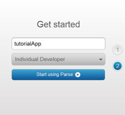 Learn how to make a simple app with a web back-end made with Parse!