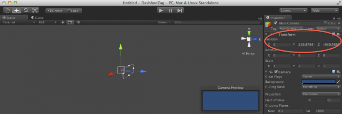 Transform Component in Unity