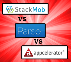 StackMob vs Parse vs Appcelerator Cloud: The fight of the iOS back-end century!