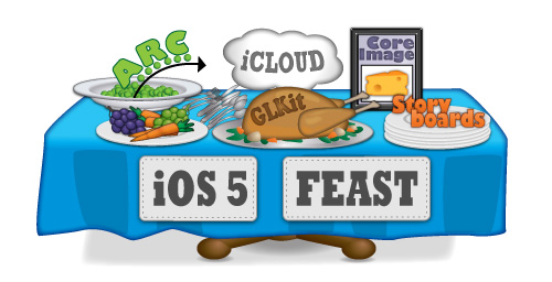 The iOS 5 Feast - tutorials, books, and giveaways all month!
