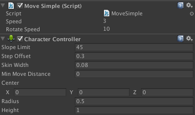 Character Controller added.