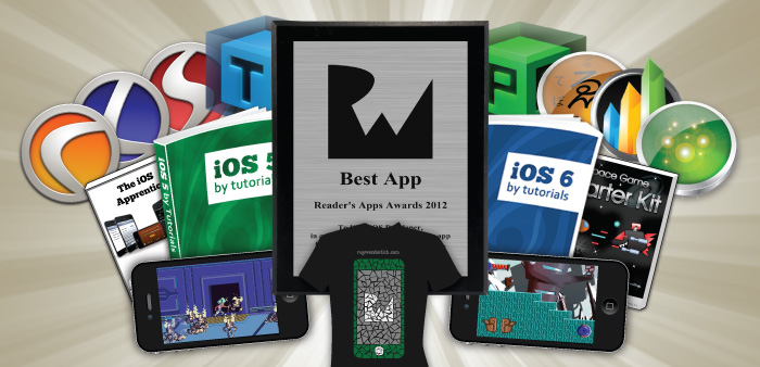 Reader's Apps Awards 2012!