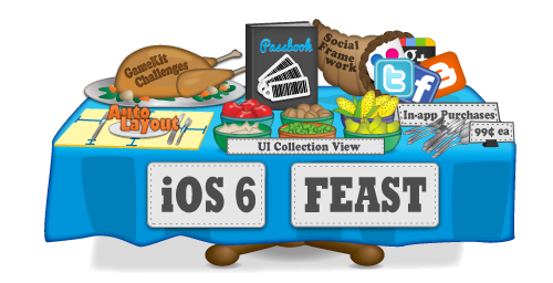 Learn the iOS 6 SDK in the iOS 6 Feast!